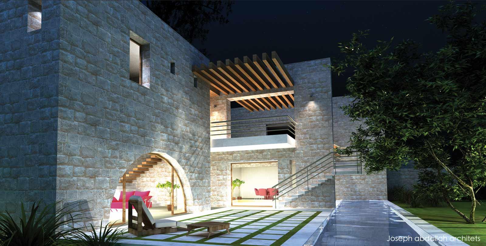 domaine-du-chene-lebanese-traditional-achitecture-joseph-abdallah-architects-villa3a