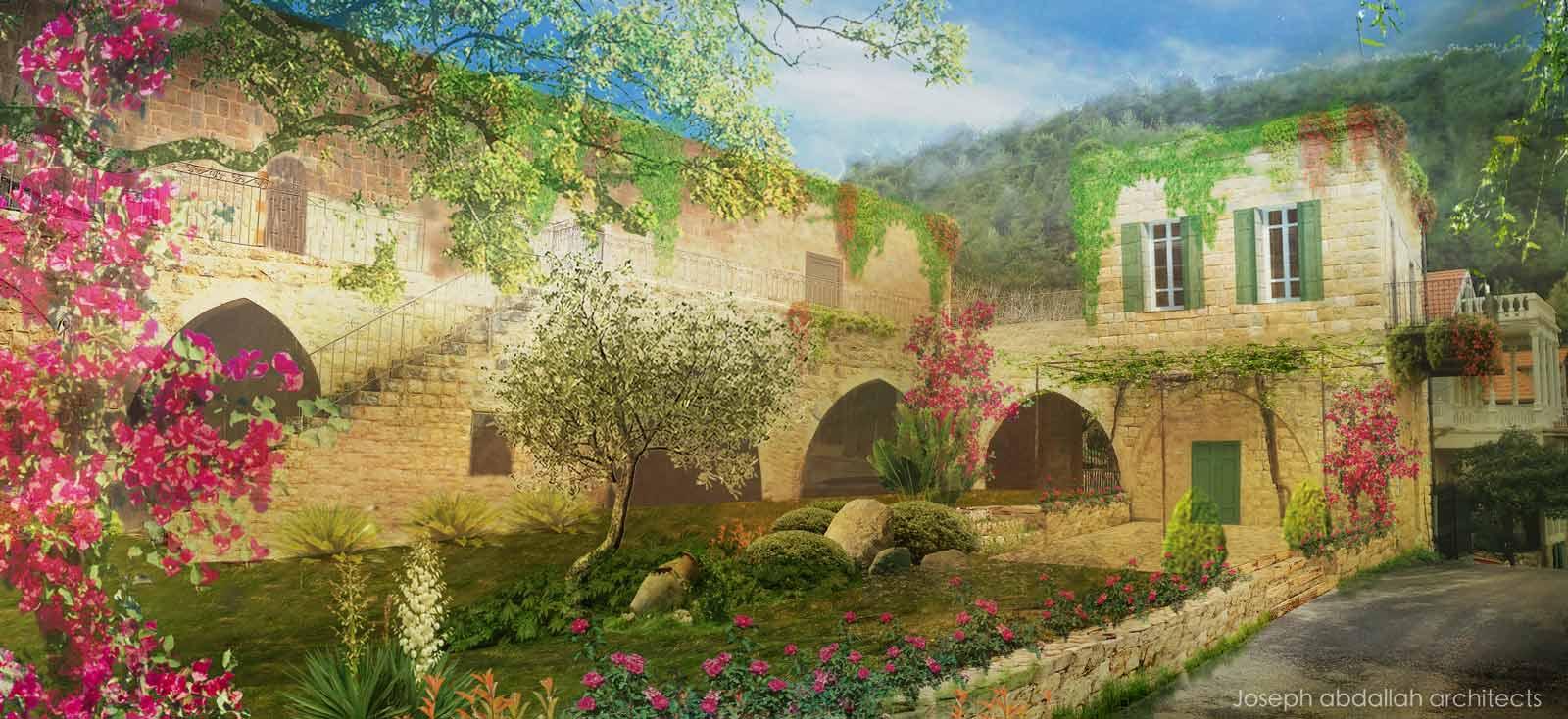 azoury-mounment-old-architecture-restoration-lebanon-joseph-abdallah-architects-3