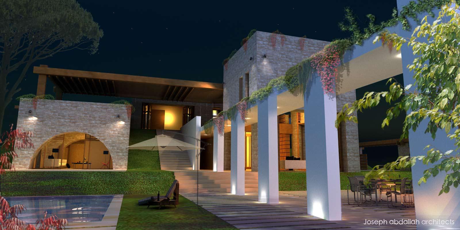community-ajaltoun-villa-architecture-landscape-bnache-lebanon-joseph-abdallah-architects-4