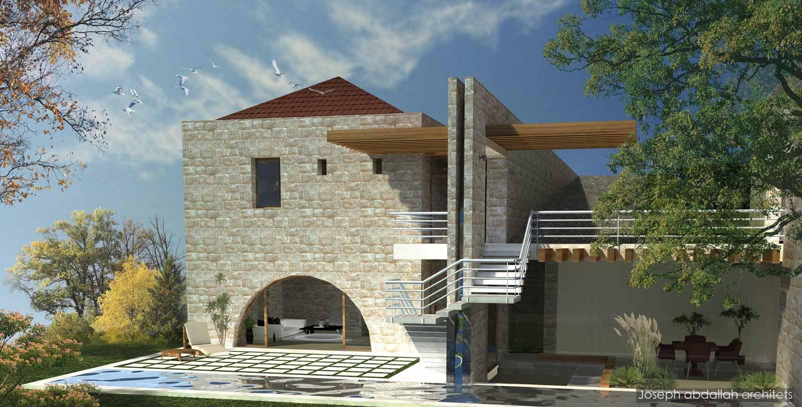 Domaine du chene joseph abdallah architects for Domaine architecture