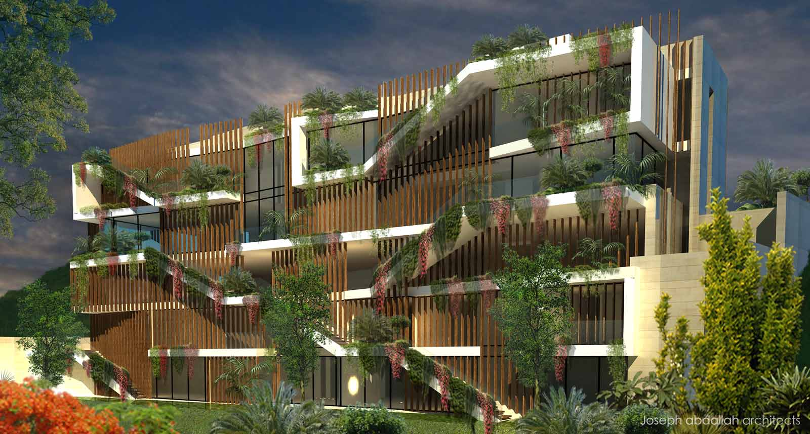 Residential Building Facade Architecture